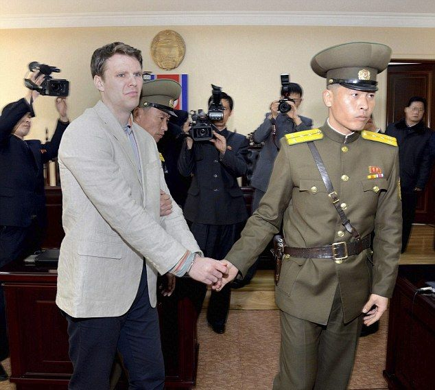 Власти Северной Кореи приговорили туриста к 15 годам каторжного труда за кр ...