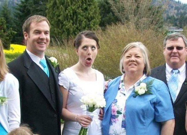 Крайне паршивые фотографии из свадебных альбомов