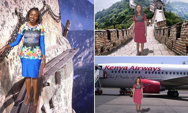 Увлекательная поездка африканской девушки в Китай