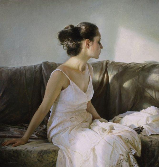 Реалистичные картины маслом от Сергея Маршенникова