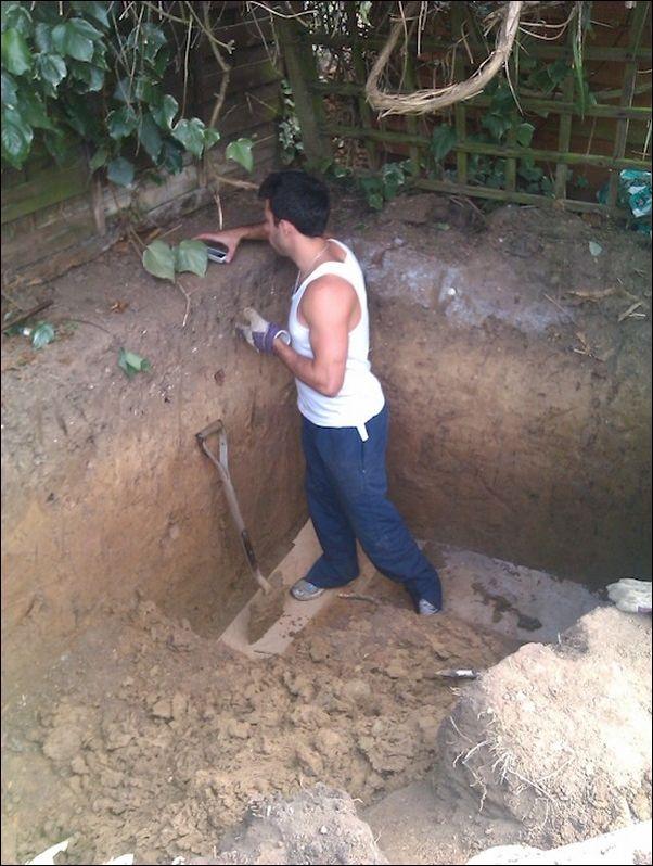 Строительство домика Хоббита у себя во дворе