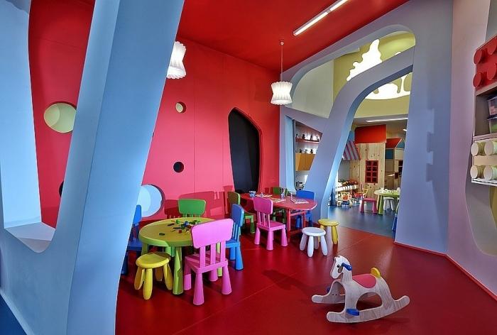 Детский сад в Греции интерьер как часть игры
