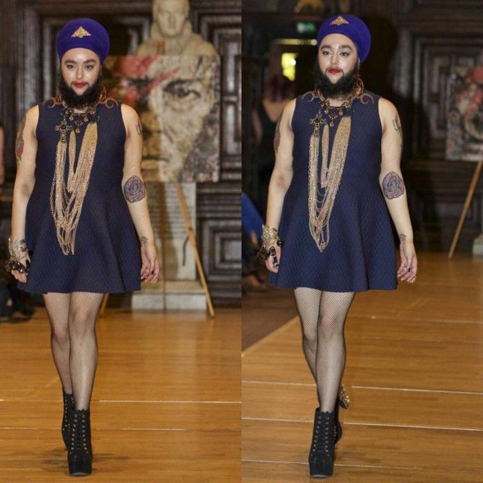 Бородатая девушка - новый эталон красоты в мире моды