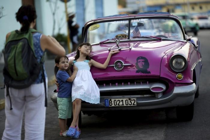 Кадры жизни людей на Кубе
