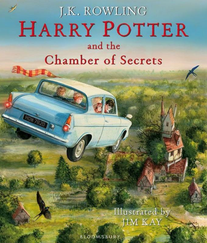 Волшебные иллюстрации книг о Гарри Поттере