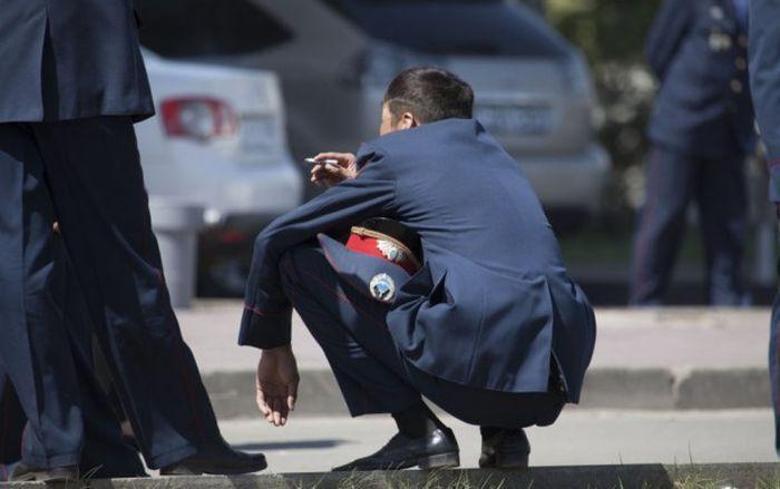 Забавные фото полицейских