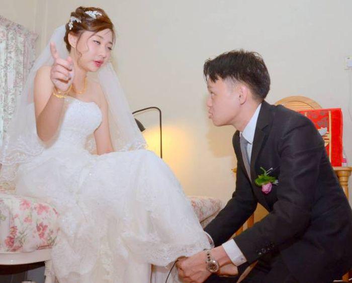 Плохой фотограф испортил свадьбу молодоженам