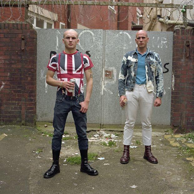 Портреты современных представителей скинхед-культуры Великобритании