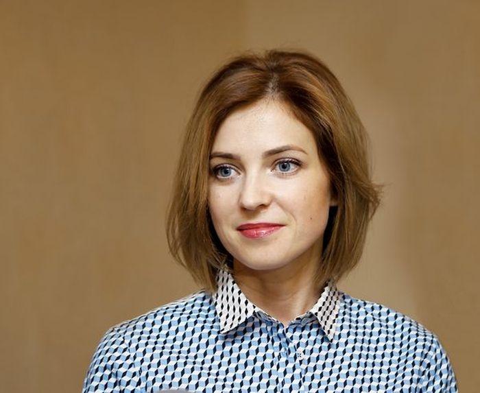 Прокурор Крыма Наталья Поклонская в штатском