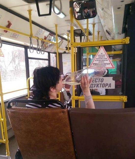 В Перми пьяная девушка-кондуктор бесплатно прокатила пассажиров