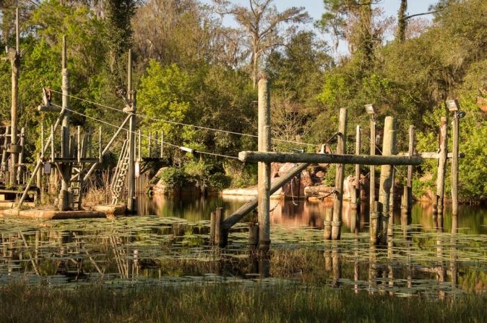 Заброшенный диснеевский парк в США