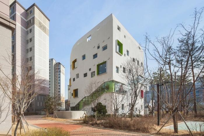 Красочный детский сад в Южной Корее
