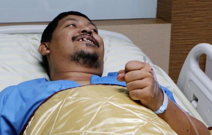 В Таиланде питон, забравшийся в унитаз, укусил мужчину за пенис