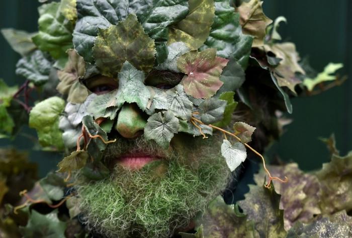 Jack in the Green парад в Англии