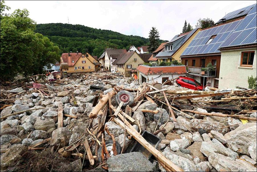 После наводнения картинки