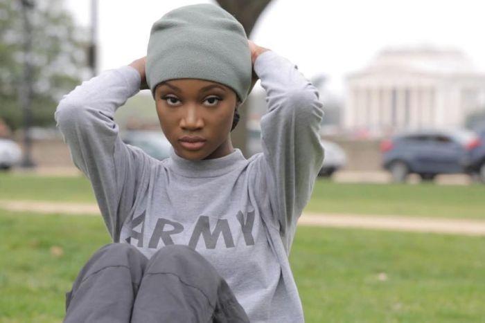 26-летняя военнослужащая Дешона Барбер одержала победу на конкурсе красоты