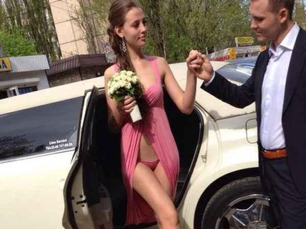 Ума не приложу, как на этой невесте держатся трусы