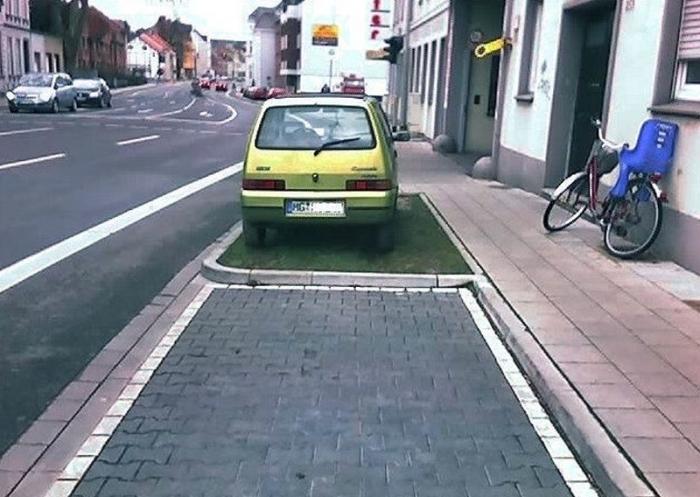 Изобретатели новых способов парковки автомобилей