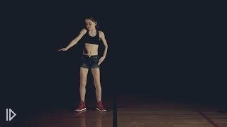 Дабстеп-танец - девчонка жжет