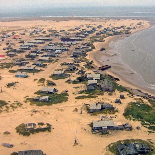 Шойна - село, утопающее в песке