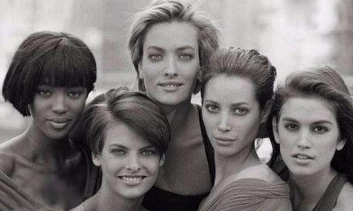 Красивые девушки из 90-х и из нашего времени