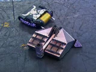 Напряженная битва роботов
