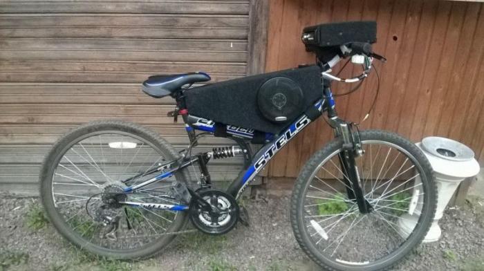 Тюнинг акустических систем на велосипедах