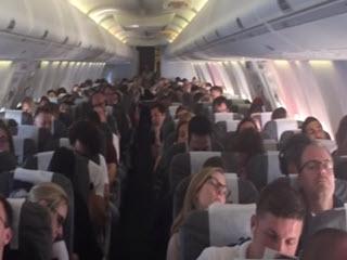 Концерт на самолете
