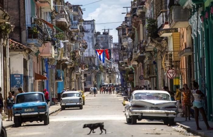 Кадры повседневной жизни в Гаване