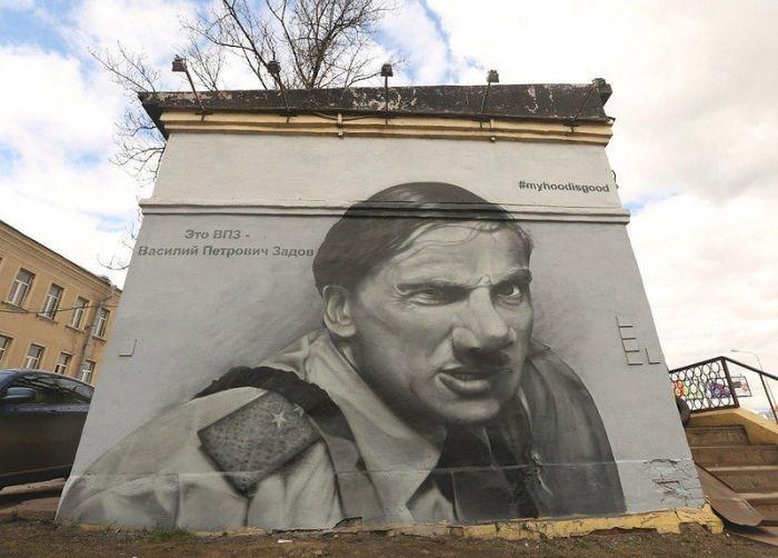Санкт-Петербург борется с граффити