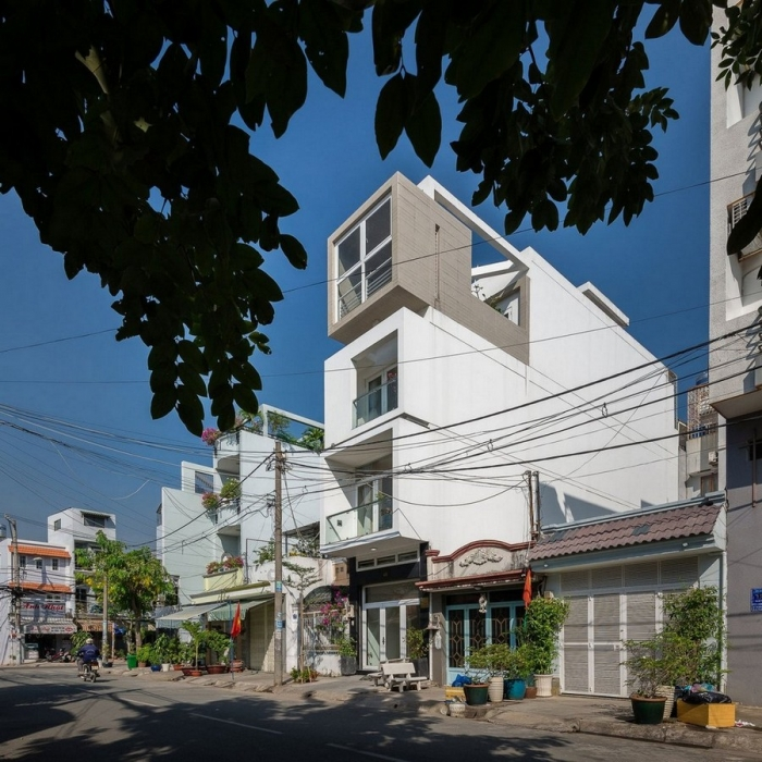 Дом шириной 3,5 метра во Вьетнаме