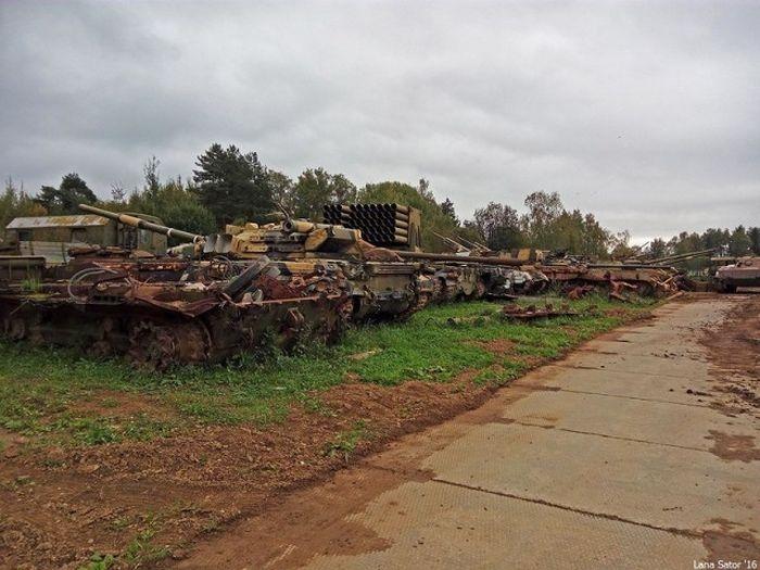 Кладбище бронетехники