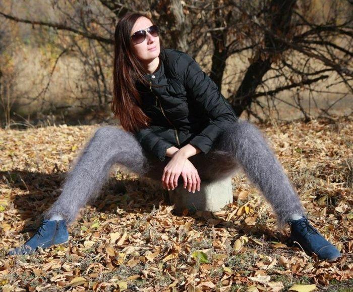Оренбургские пуховые лосины покоряют интернет