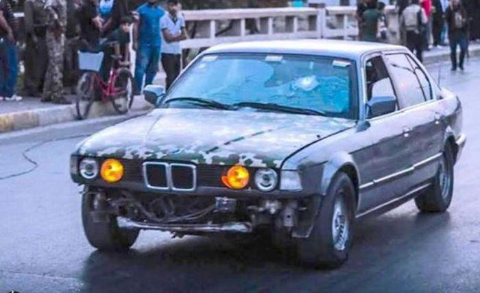Бронированный BMW 7-Series, на счету которого десятки спасенных жизней
