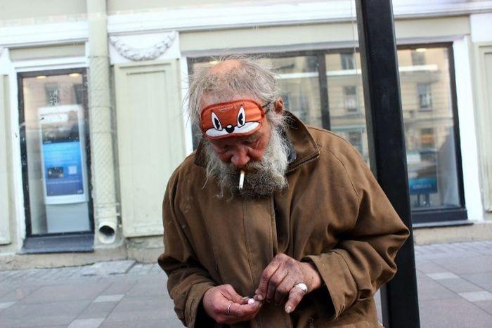 Странная мода на улицах Санкт-Петербурга