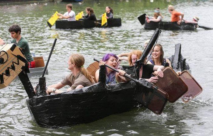 веселые картинки с лодкой