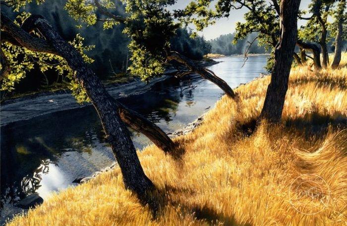 Удивительные пейзажи Кэрол Эванс