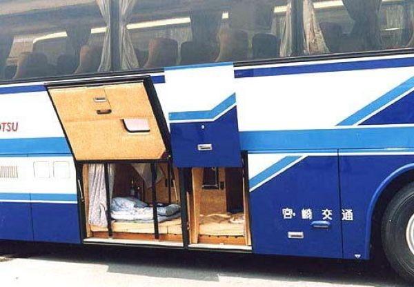 Где спят водители автобусов дальнего следования