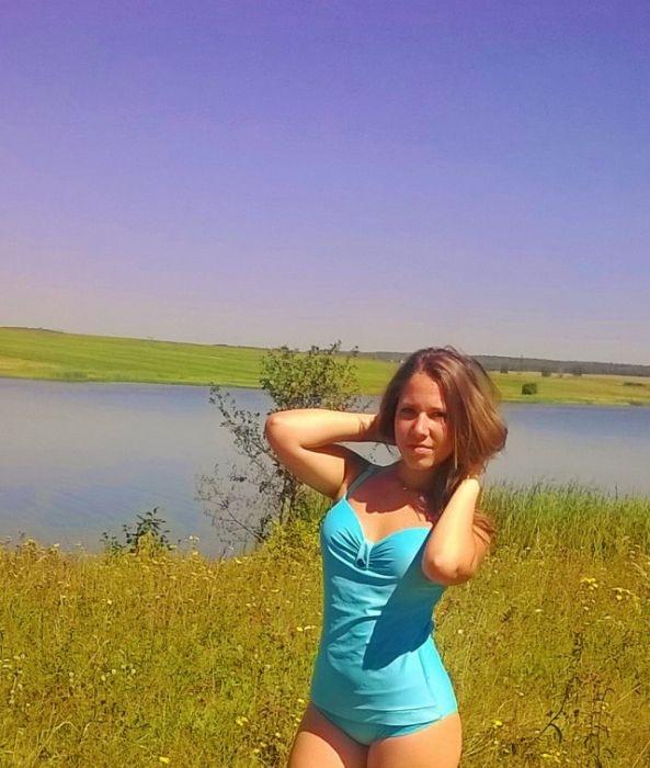 любительские фото российских девушек
