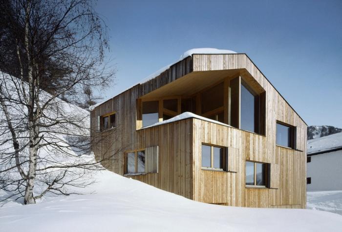 Загородный дом в горной Швейцарии