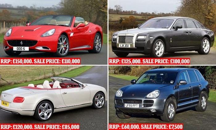 Коллекцию люксовых авто изъяли у ближневосточного шейха и продадут с аукцио ...