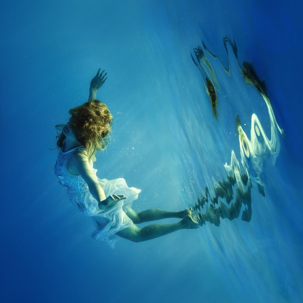 Красивые фото под водой что