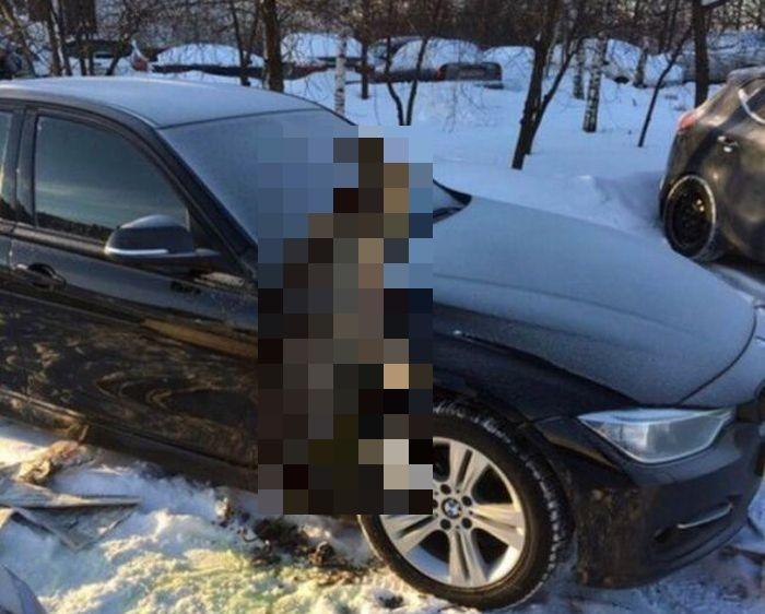 Варварская кража бачка омывателя фар с BMW 3-Series