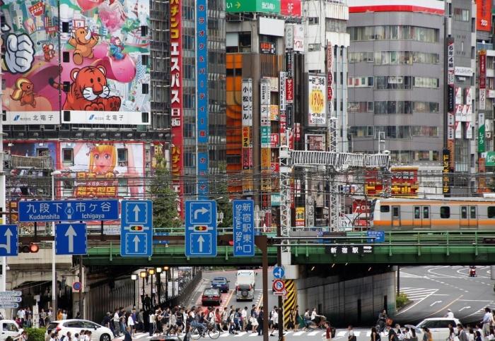 Кадры повседневной жизни японцев