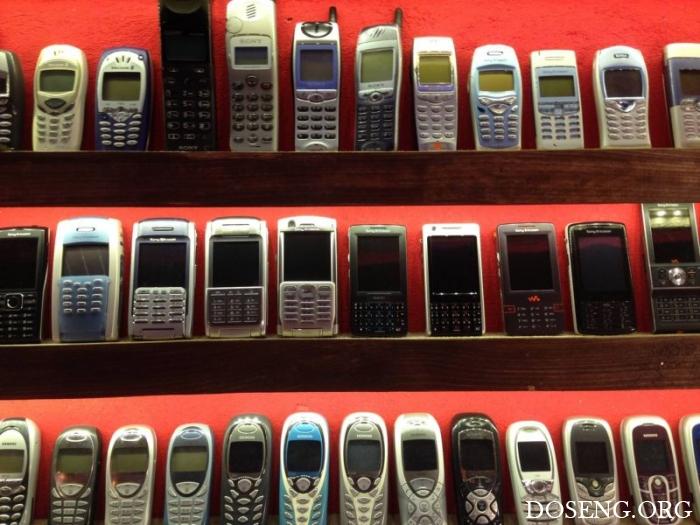 Музей старых мобильных телефонов