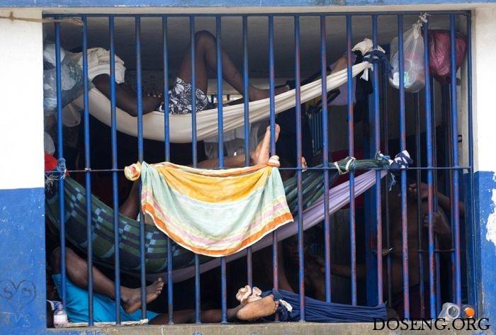 Тюрьма в столице Гаити Порт-о-Пренсе