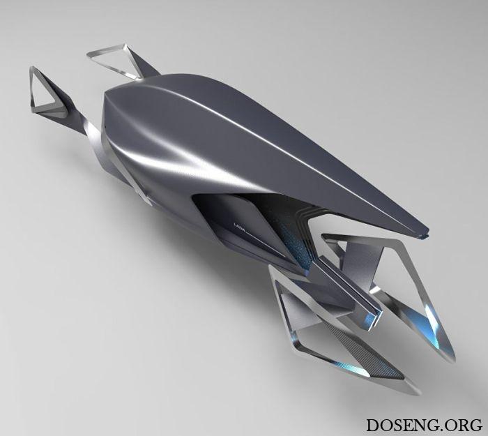 Фантазии на тему автомобили марки LADA в 2050 году