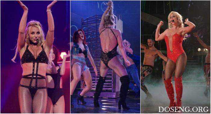 Бритни Спирс на концерте в Вегасе