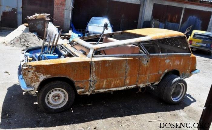 ВАЗ-2102 в стилистике авто из фильма «Безумный Макс»