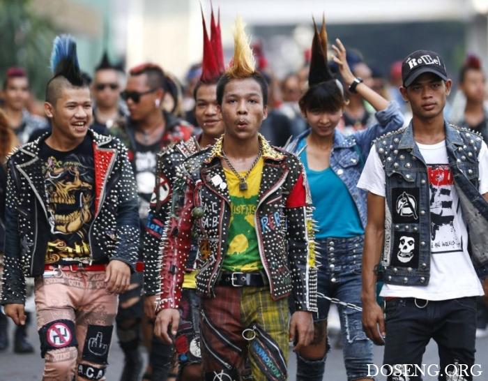 Фестиваль панков в Мьянме